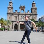 Já na náměstí před katedrálou