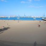 Pláž v Las Palmas