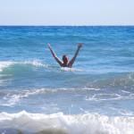 Juchů, moře