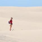 Peťa uprostřed pouště