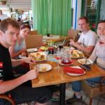 V restauraci v Puerto de Mogán