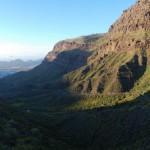 Cesta do údolí k La Aldea