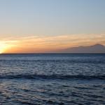 Večerní pohled na Tenerife z La Aldea