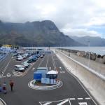Přístav Puerto de las Nieves u města Agaete